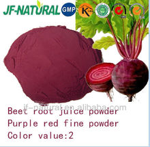 Beet root juice powder red color water soluble