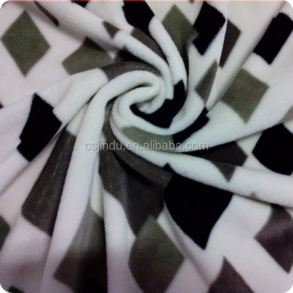 2013 hot sale super soft plaid printed flannel fabric wholesale Changshu