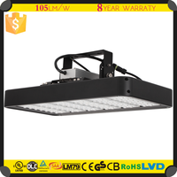 High lumen IP65 led flood light 250W to replace 500 halogen UL high bay light