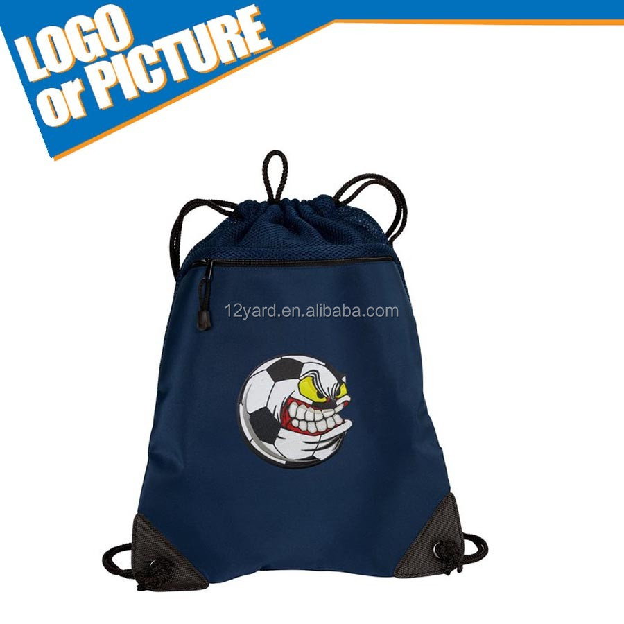 Wholesale Canada hockey stick canvas game drawstring bag