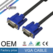 SIPU Gold plated/nickelPlated HD15pin 3+6 VGA to VGA Cable for Projector,LCD 1.5m,1.8m,2m,3m,5m,10m,20m,30m,40m
