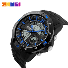 Charming and Fishonal SKMEI Watch top10 brand with Analog Digital Wrist Sports Men Watch
