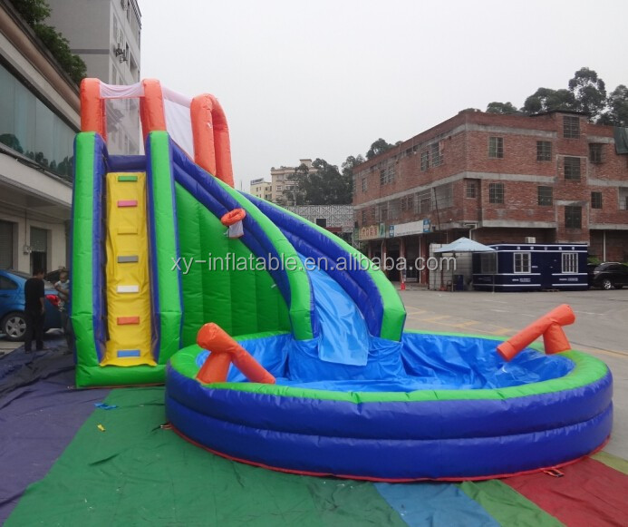 inflatable water slides prices/ used commercial water slides/inflatable pool slide