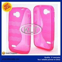 OEM case for NEXTEL V35 TPU case S wave cover