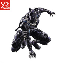 Customized 2018 hot sale Marvel movie character figure Black Panther Action Figure
