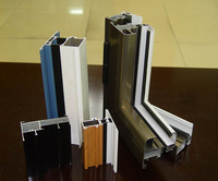aluminium window profile extrusion from China golden supplier