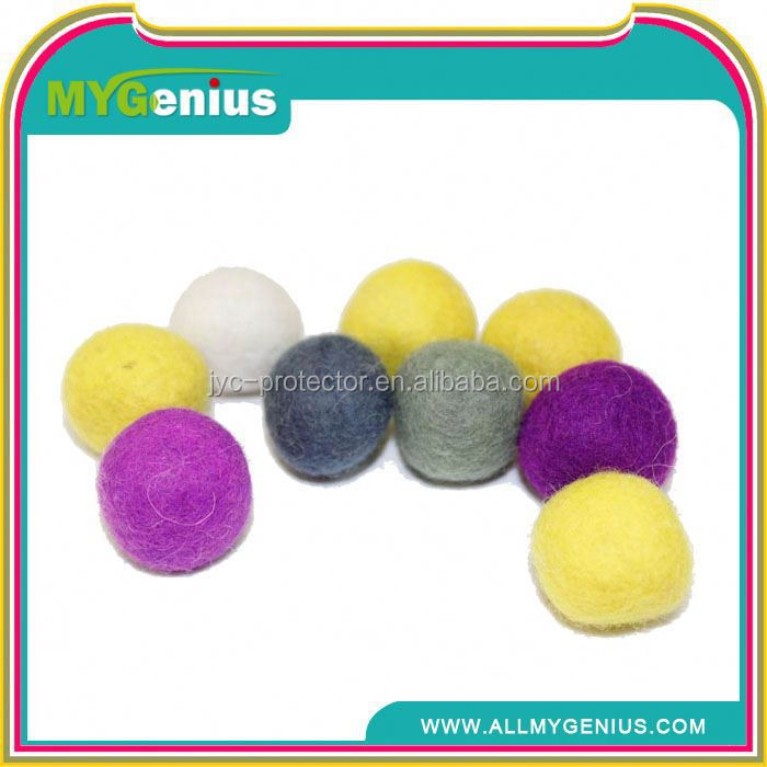 HT100 The Newest Arrival hot selling wool dryer ball 100% wool felt ball