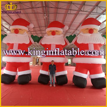 Cheap price giant 20ft Christmas Inflatable Santa Claus