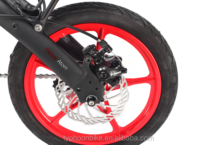 Newest 14 Inch 36v  Folding Electric Mini Bike
