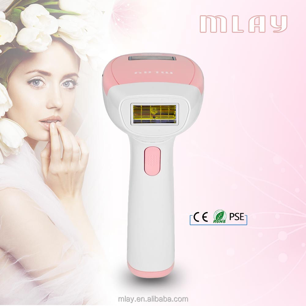 MLAY IPL Hair Removal System Face and Full Body Permanent Hair Removal Device For Home Use