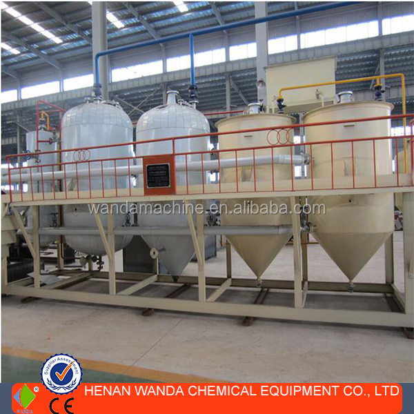Mobile small scale mini soya oil refinery plant for sale