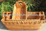home decoration cheap price willow tray