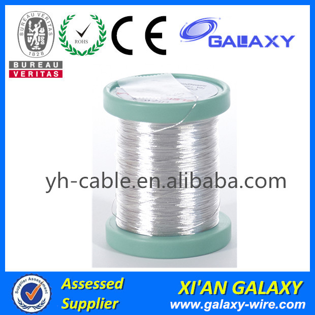 PEW, UEW, EIW, AIW insulation Silver magnet wire for loudspeaker voice coils
