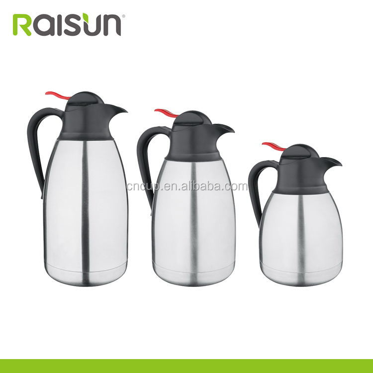 stainless steel electric coffee pot with three sizes