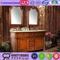 First-Class cabinets french style 304 stainless steel bathroom vanity (m-706)
