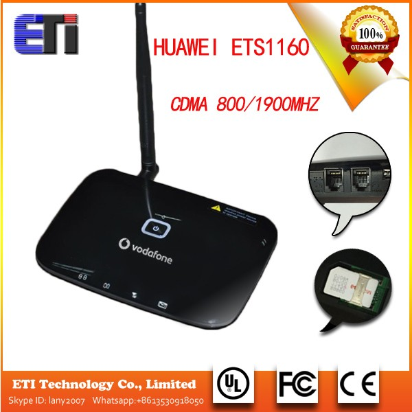 Huawei ETS11603G GSM WCDMA 2100Mhz with 2 RJ11 support data transfer Fixed wireless terminal telephone