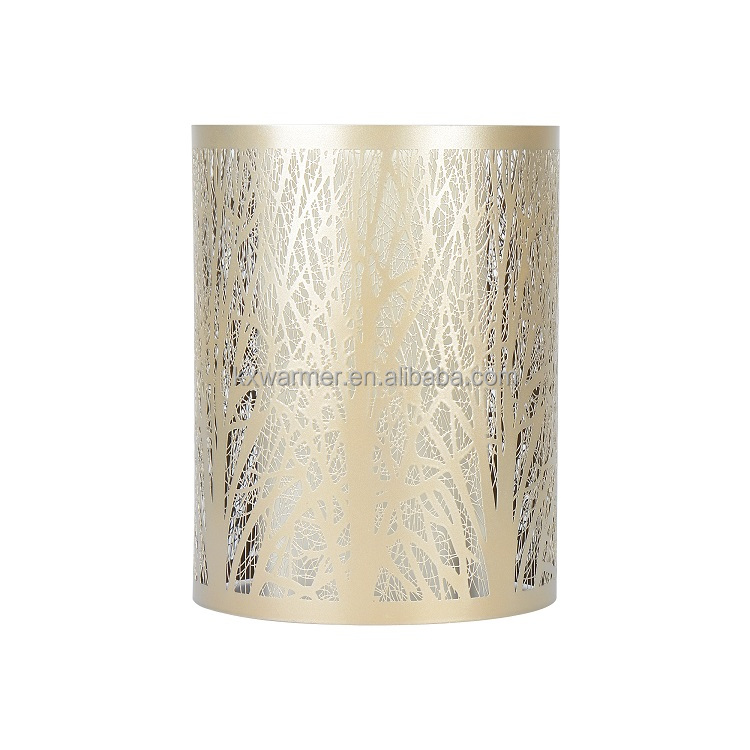 Silver Gold Votive Metal Candle Holders For Decoration