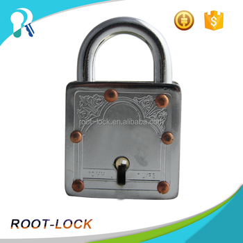 70mm 7 levers Padlock with Colorful Plastic Cover