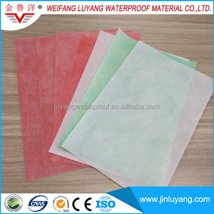 polypropylene polyethylene waterproof membrane for bathroom floor