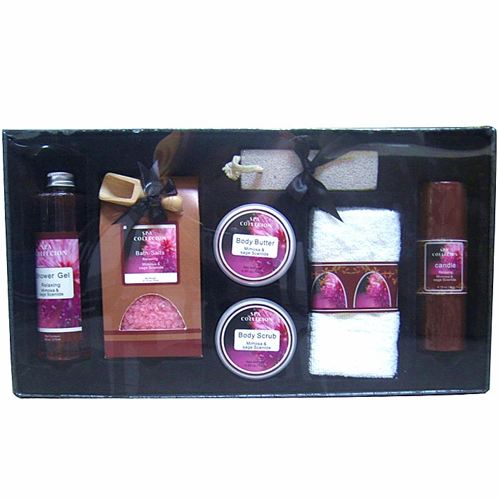 OLIVER OIL ESSENTIAL PVC BAG TRAVEL BATH SET AND Bath Gift Set