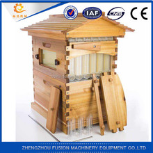Automatic flowing bee hive plastic flow beehive