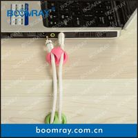 boomray factory 2014 promotional TPR colorful multipurpose cable management electronic gadgets gift funny