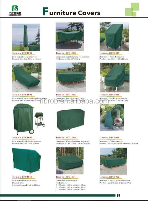 Waterproof Garden Plastic Outdoor Furniture Cover