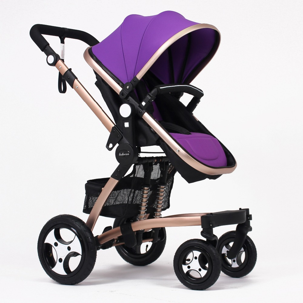 Belecoo baby carrier/ baby pram/ baby stroller 3 in 1 manufacture with EN1888 Purple