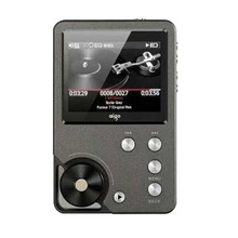New popular turnplate design 8GB mini mp3 player with screen
