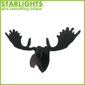 wood animal head wall mount