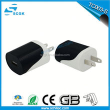 World travel Home usb wall charger for blackberry 2.1A 4usb wall adapter charger