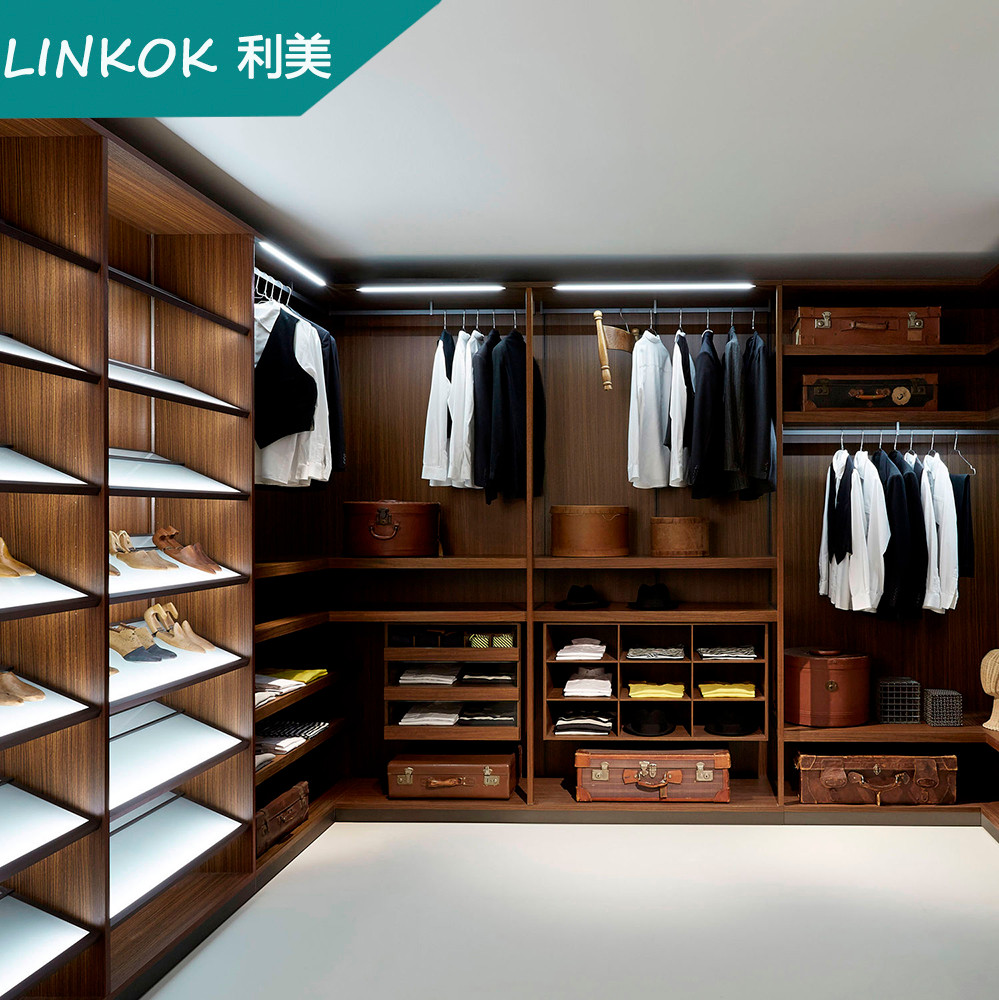 Factory wholesale price china custom modern walk in wardrobe closet design