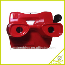 Plastic Adjustable Stereoscope Mirror 3D Viewer,Mirror Stereoscope 3D