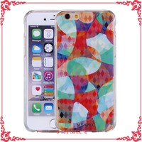 colorful tpu mobile phone case for iphone, for samsung galaxy S5 printing case