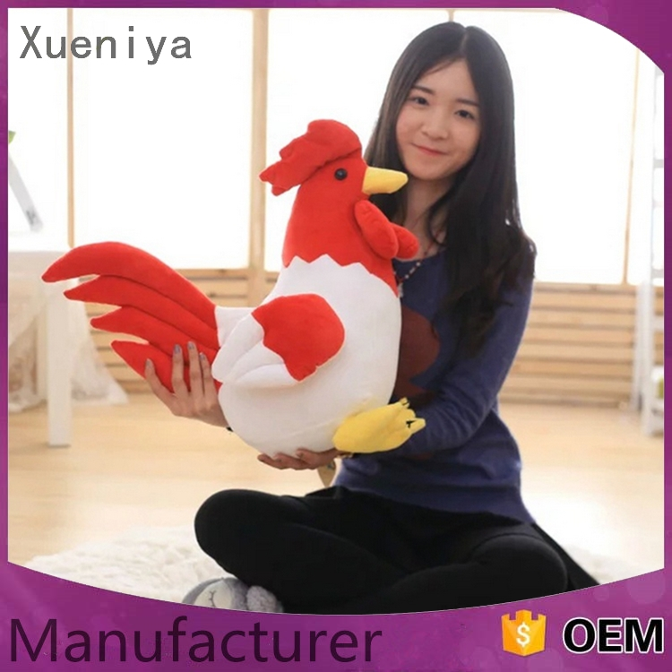 china products promotional personal wholesale realistic plush toy chicken