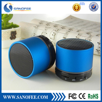 Portable mini bluetooth speaker with usb