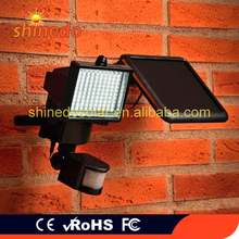 CE & ROHS Certificated Integrated Outdoor Waterproof Solar Garden Security Home Light with PIR Motion Sensor