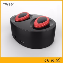 2017 Newest Micro Headphone Super Bass Twins Ture Wireless Bluetooth Binaural Earphone BT Ear Buds