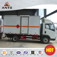 Heavy duty truck 4x2 141hp Blasting Equipment Transport truck Flammable liquid van truck