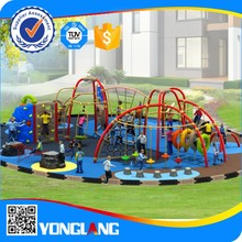 Unique outdoor interactive game plastic and metal playground