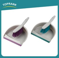 Toprank Walmart Supplier Wholesale Brushes Broom And Dustpan Household Plastic Cleaning Set Mini Broom Dustpan With Brush Set