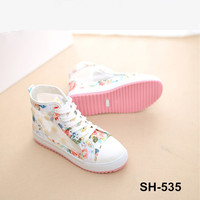Hot sale product in china cheap casual shoes wholesale women canvas mesh Breathable floral print design