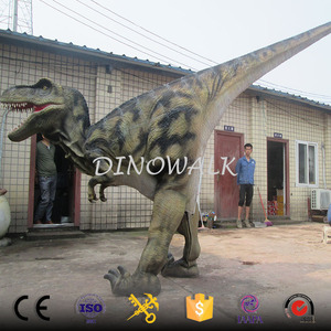 DW-0697 Realistic walking with hidden legs t-rex dinsoaur costume