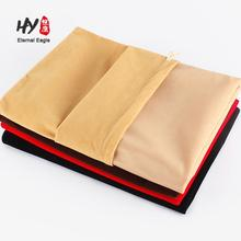 Custom made hot sale custom hair extension packaging velvet bag