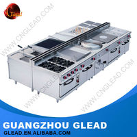 CE Approval Electric/Gas hotel kitchen equipment