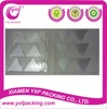 2015 Hot Sale metallic silver large triangle stickers