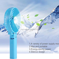 18650 lithium battery high speed portable rechargeable Mini cooling fans for Outdoor activities