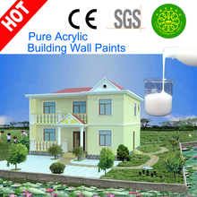 Styrene-acrylic polymer emulsion/ Waterbased Acrylic Emulsion Latex for Interior&Exterior Walls Coating