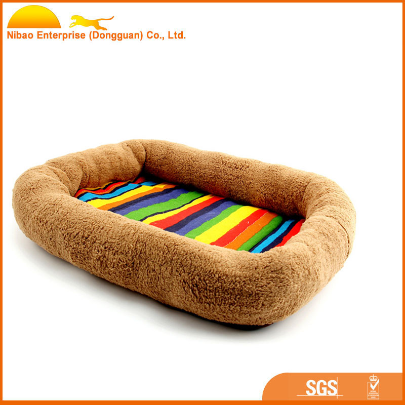 Padded Pet Bolster Bed, Pet Mats