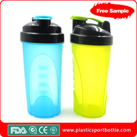 2015 most popular bpa free wholesale shaker bottle with private label